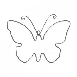 papillon en fil metallique