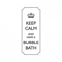 tampons keep calm and have a bubble 3x7cm