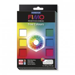 kit fimo professsional true colours 6 pieces