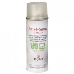 vernis aerosol acrylique transparent 200ml