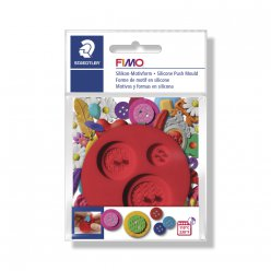 Moule Fimo silicone Boutons ø7 cm