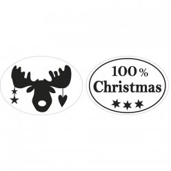 labels 100 christmas elan