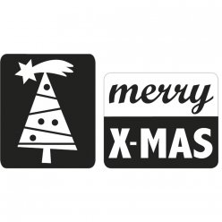 labels merry x  mas arbre de noel