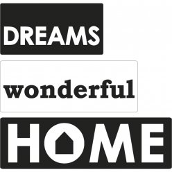 labels dreams wonderful home