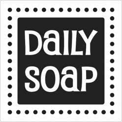 label daily soap 5 cm