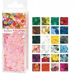 sequins lisses lavables o6mm 3500 pieces