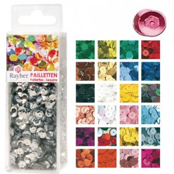 sequins bombes lavables o6mm 2600 pieces