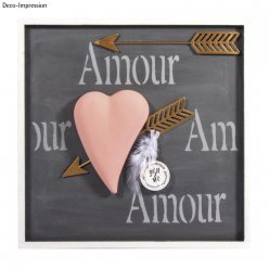 deco metallique fleches de cupidon