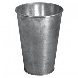 vase decorative en zinc o75 115 cm