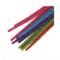 filin chenille assort candy 30 cm 25 pieces
