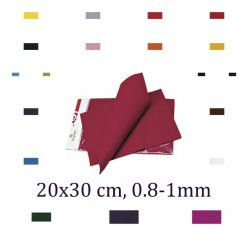 lot de 2 coupons de feutrine 08 1 mm 20x30 cm