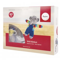 kit elephant de laine