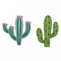 patch thermocollant fer a repasser cactus