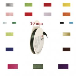 Ruban de satin 10mm x10 m