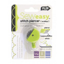 seweasy stitch piercer scallop head