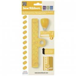Sew Ribbon Punch&Stencil Set-Shoelace