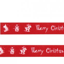 washi tape merry christmas 15m
