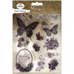 clear stamp butterfly 1  73 cm 15 pieces