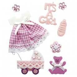 sticker decoratif bebe fille