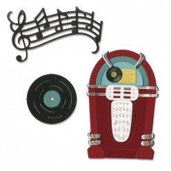 sizzix thinlits die kit  juke boxetmusic