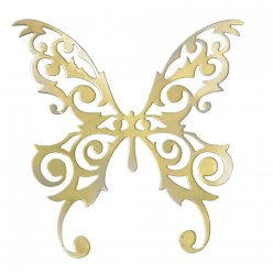 sizzix thinlits die  magical butterfly