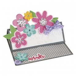 sizzix thinlits set flower layersetleaf