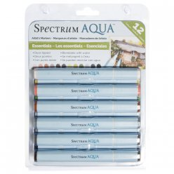 spectrum aqua  essentials feutre aquarellable