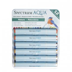 spectrum aqua  nature 12 feutres aquarellables
