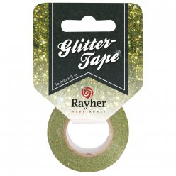 glittter tape scintillant 15 mm x5 m