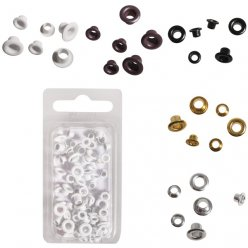easy oeillets rond o48mm 75 pieces