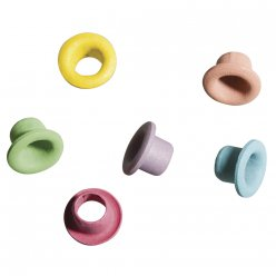 easy oeillets rond o 5mm 100 pieces pastel