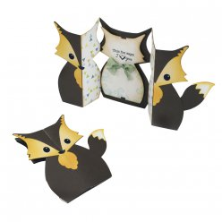 set sizzix thinlits  carte renard