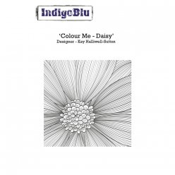 tampon a6 colour me daisy