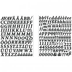 stickers alphabets