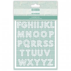 first edition paper cuts  alphabet