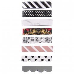 paper tapes 8 designs 300x15mm