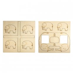 kit mobile en bois elephant fsc 100