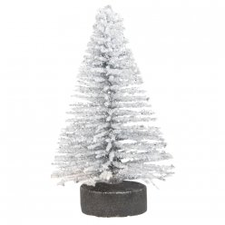 sapin decoratif paillette 5 cm 8 pieces