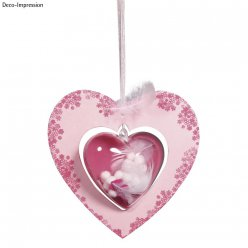 papm pendentif coeur fsc recycled 100