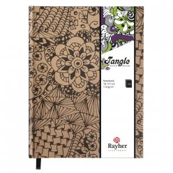 tangle agenda cameo 159x209 cm kraft