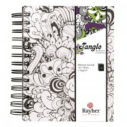 tangle memory journal orchid 155x18 cm