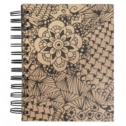 tangle memory journal cameo 155x18 cm kraft