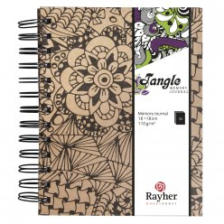 tangle memory journal cameo 155x18cm