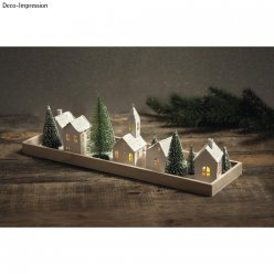 kit papier village illumine5pces fsc100