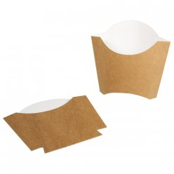 baquet en carton a frites 6 pieces