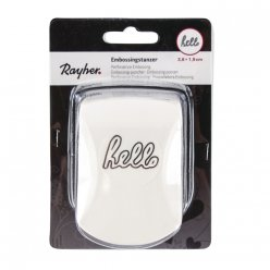 perforatrice embossing hello