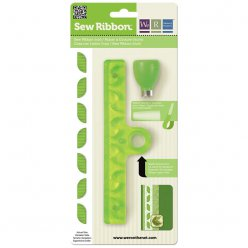 sew ribbon punch leaf perforatrice ruban