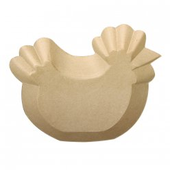 Coupe Poule Label FSC 10, 23x20x3 cm