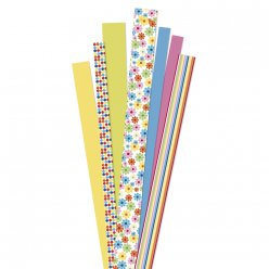 bandes de papier flower garden yellow 90 pieces