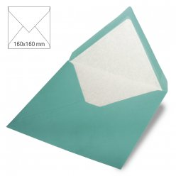 enveloppes carrees 160x160 mm 5 pieces